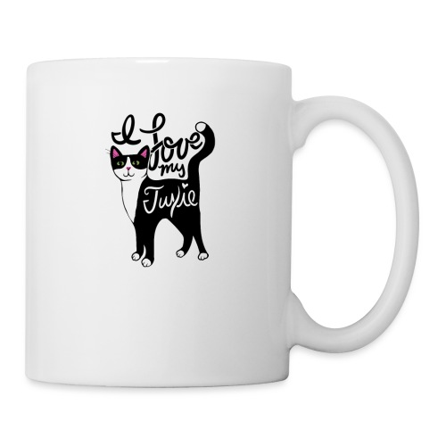 I love my tuxedo cat - Coffee/Tea Mug