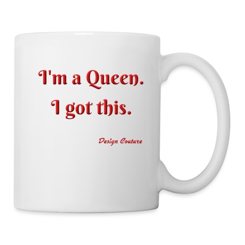 I M A QUEEN RED - Coffee/Tea Mug