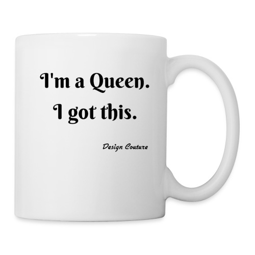 I M A QUEEN BLACK - Coffee/Tea Mug