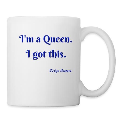 I M A QUEEN BLUE - Coffee/Tea Mug