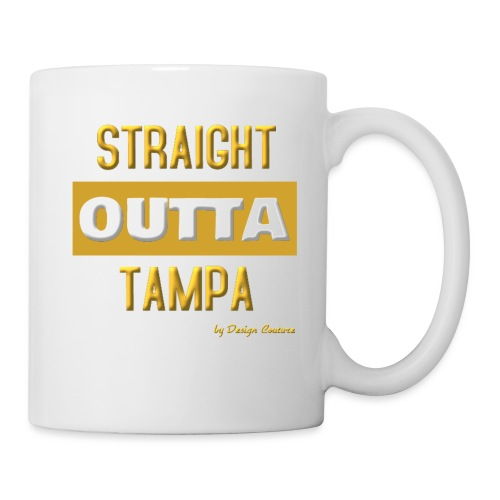 STRAIGHT OUTTA TAMPA GOLD - Coffee/Tea Mug