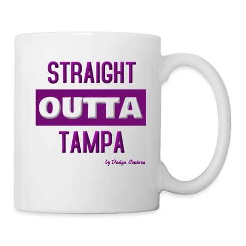 STRAIGHT OUTTA TAMPA PURPLE - Coffee/Tea Mug