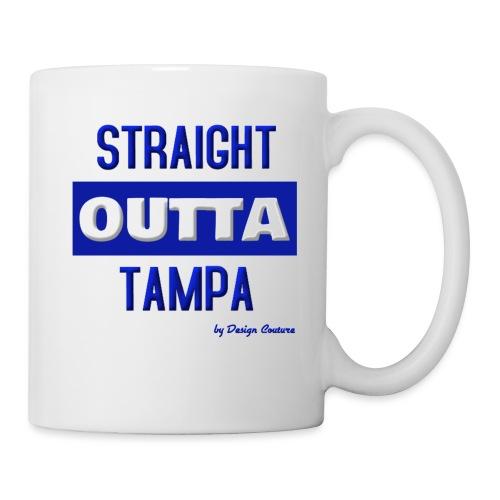 STRAIGHT OUTTA TAMPA BLUE - Coffee/Tea Mug