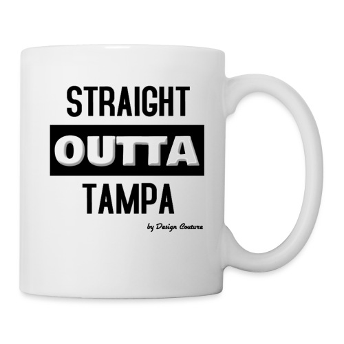 STRAIGHT OUTTA TAMPA BLACK - Coffee/Tea Mug