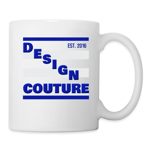 DESIGN COUTURE EST 2016 BLUE - Coffee/Tea Mug