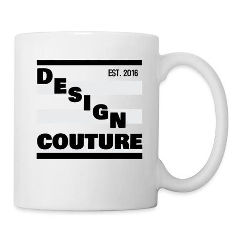 DESIGN COUTURE EST 2016 BLACK - Coffee/Tea Mug