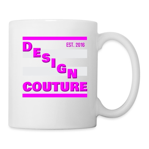 DESIGN COUTURE EST 2016 PINK - Coffee/Tea Mug