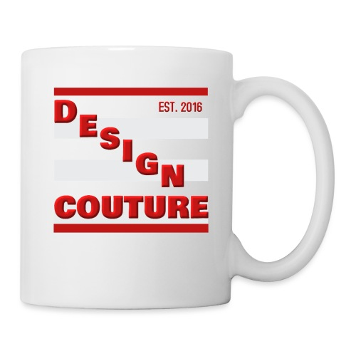 DESIGN COUTURE EST 2016 RED - Coffee/Tea Mug