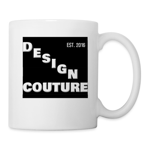 DESIGN COUTURE EST 2016 WHITE - Coffee/Tea Mug