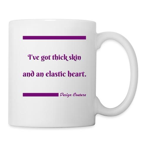 I VE GOT THICK SKIN PURPLE - Coffee/Tea Mug