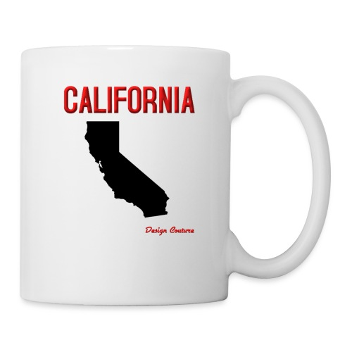CALIFORNIA RED - Coffee/Tea Mug