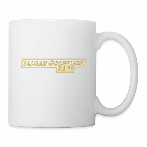 Allman Goldflies Band Logo - Coffee/Tea Mug