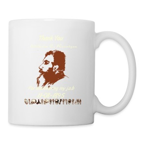Thank You Wilhelm C. Roentgen - Coffee/Tea Mug