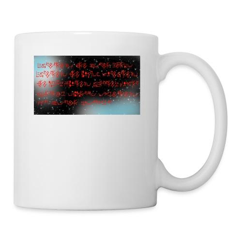 Text and Stars - Coffee/Tea Mug