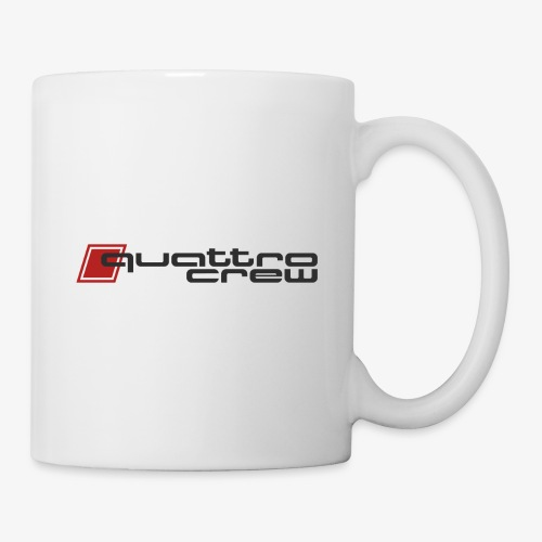 Quattro Crew - Dark Logo - Coffee/Tea Mug