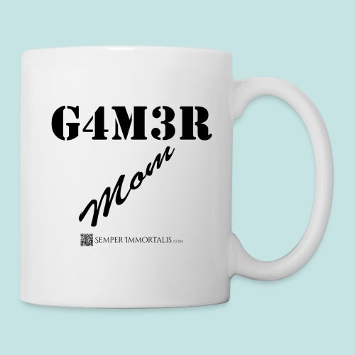 Gamer Mom (black) - Coffee/Tea Mug