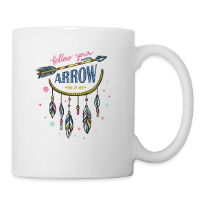 FOLLOW YOUR ARROW 01 - Coffee/Tea Mug