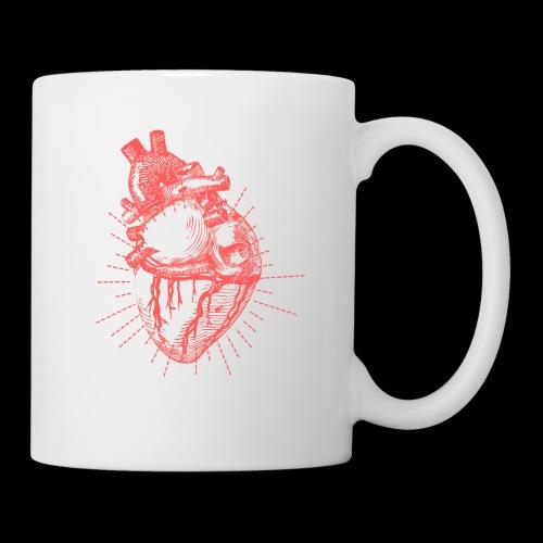 Hand Sketched Heart - Coffee/Tea Mug