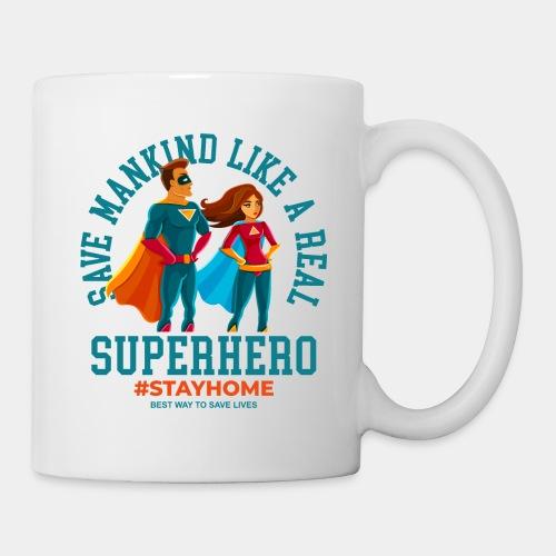 stay home save lives - Coffee/Tea Mug