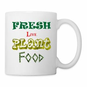 Fresh Live Plant Food - Coffee/Tea Mug
