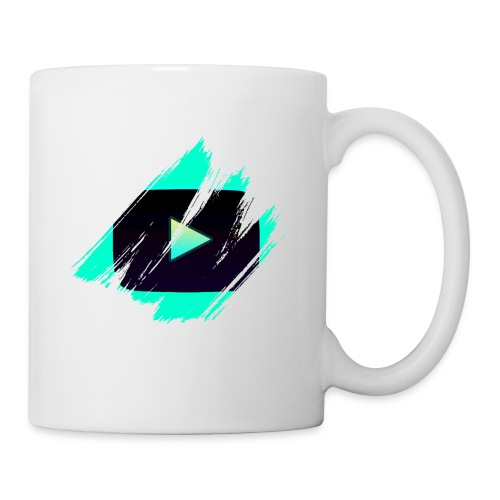 DRFT Clothing: Cyan Youtube is Life - Coffee/Tea Mug