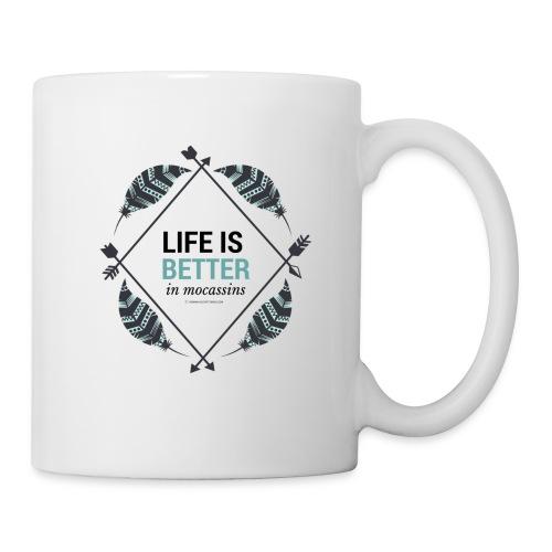 Life is Better in Mocassins - Coffee/Tea Mug
