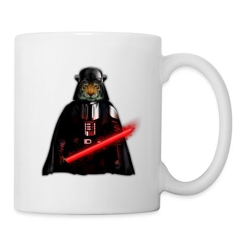 Power Tiger painting T-shirt - Coffee/Tea Mug