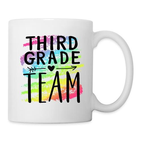 Third Grade Team Crayon Splash Teacher T-Shirts - Coffee/Tea Mug
