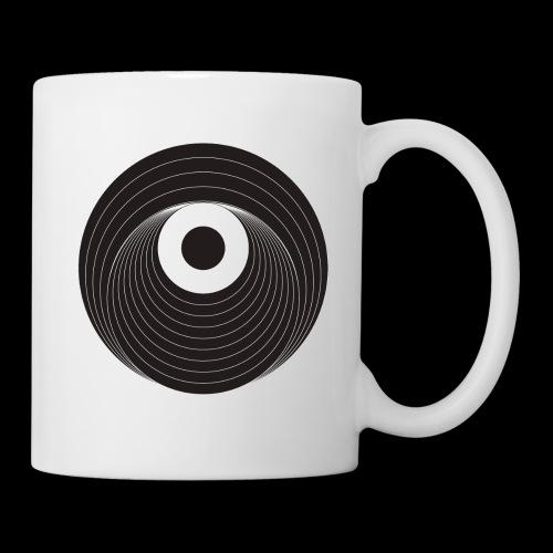 Black Dirt Vortex Logo Dark - Coffee/Tea Mug
