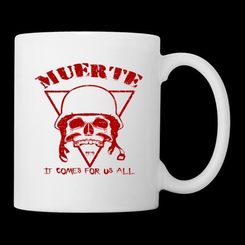 Muerte Skull (red) - Coffee/Tea Mug