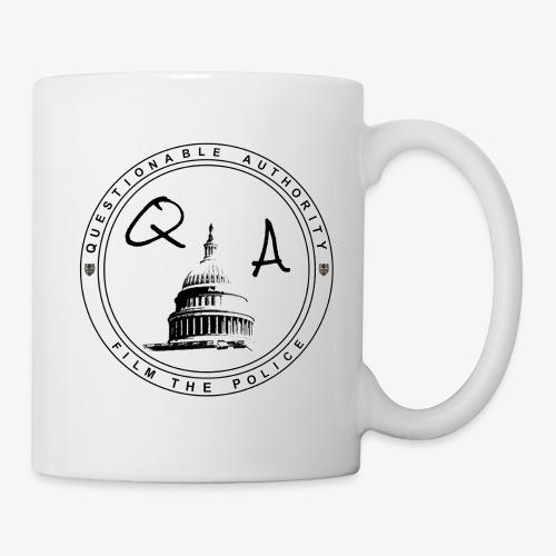 Questionable Authority Film the Police - Coffee/Tea Mug