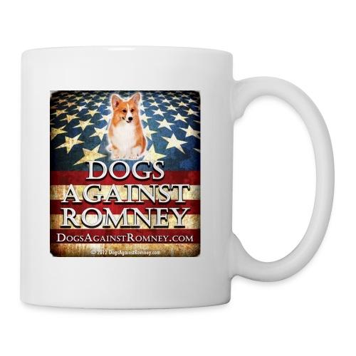 corgidogsagainstromneyflag - Coffee/Tea Mug