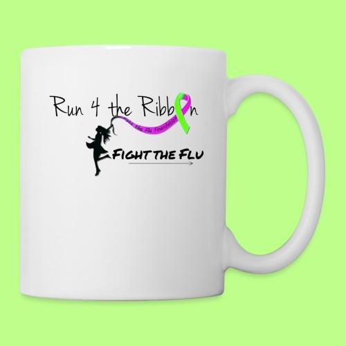 FIGHT THE FLU RUNNING 4 THE RIBBON - Coffee/Tea Mug