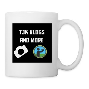 TJK Vlogs and More logo clothing - Coffee/Tea Mug
