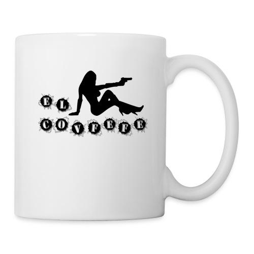 El Covfefe Bad Ass Girl - Coffee/Tea Mug