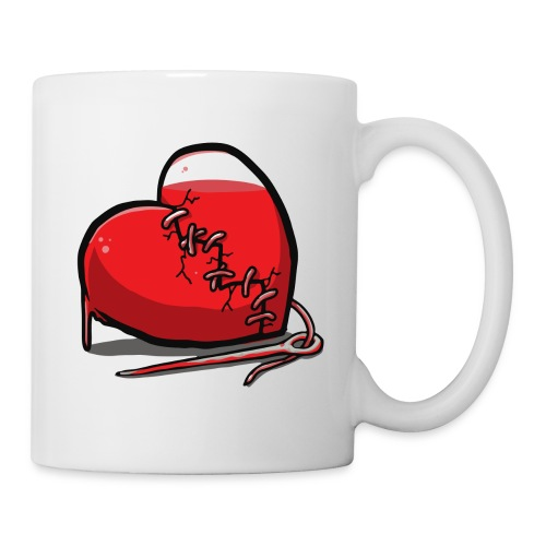 bleeding heart 2 - Coffee/Tea Mug