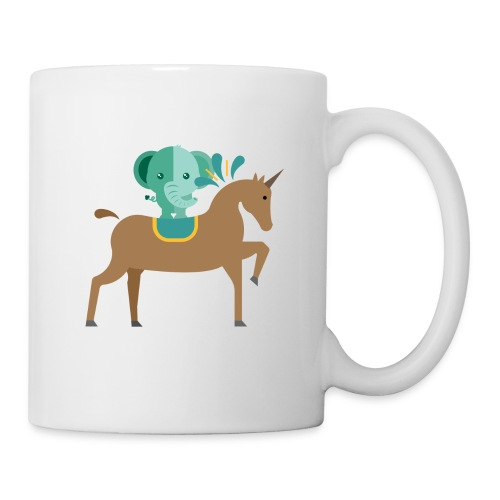 Unicorn and elephant - Coffee/Tea Mug