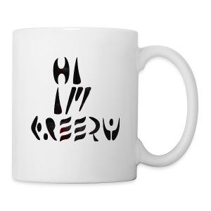 hi im creepy - Coffee/Tea Mug