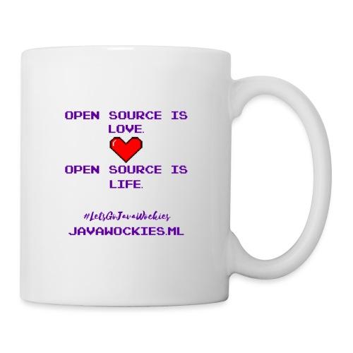 Open Source is Love. Open Source is Life. - Coffee/Tea Mug