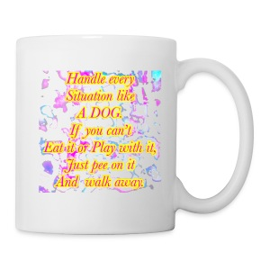 Just pee on it & walk away - Coffee/Tea Mug