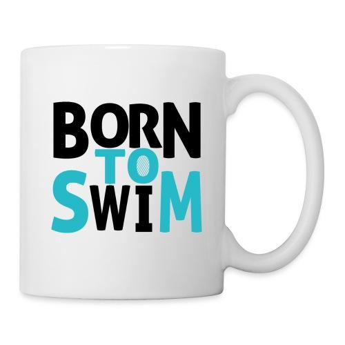 BORN TO SWIM - Coffee/Tea Mug