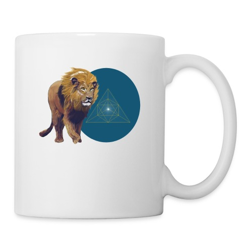 Lion with Tetraeder - Coffee/Tea Mug