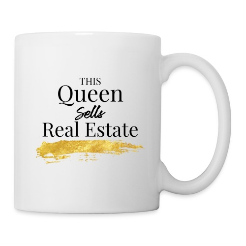 This Queen Sells Real Estate - Coffee/Tea Mug