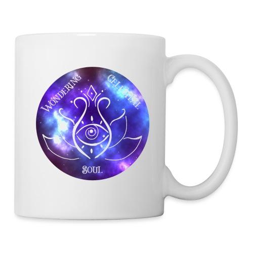 Colourful Wondering Celestial Soul Logo - Coffee/Tea Mug