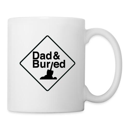 D B logos vert B on W trans Merch - Coffee/Tea Mug