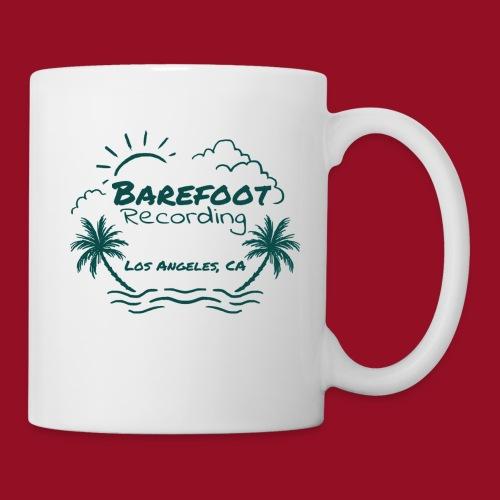 Barefoot Recording Beach Logo - Coffee/Tea Mug