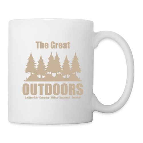 The great outdoors - Clothes for outdoor life - Coffee/Tea Mug