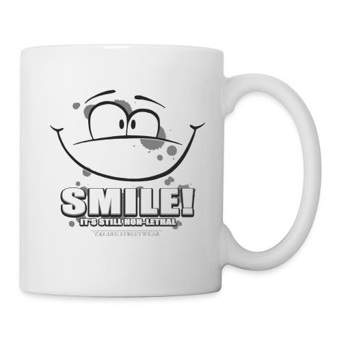 Smile - it's still non-lethal - Coffee/Tea Mug