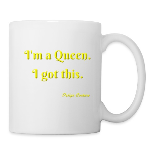 I M A QUEEN YELLOW - Coffee/Tea Mug