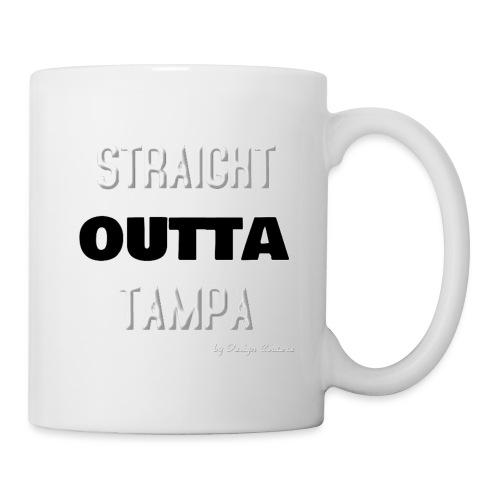 STRAIGHT OUTTA TAMPA WHITE - Coffee/Tea Mug